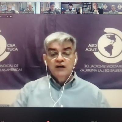 Rafael Freire, Secretario General CSA