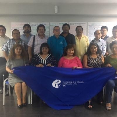 Reunión de planificación SUTEP - IEAL