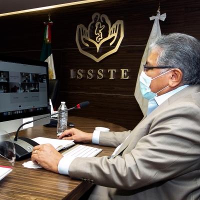 Reunión SNTE, ISSSTE y Sec. de Hacienda