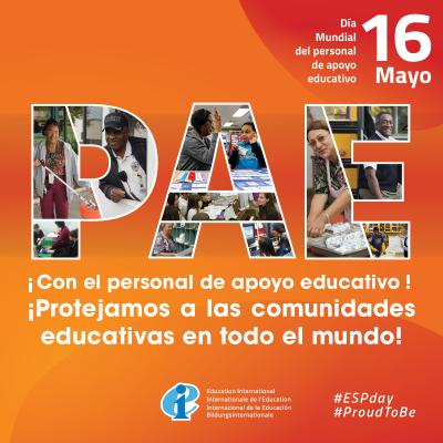 Día Mundial del Personal de Apoyo Educativo 2020