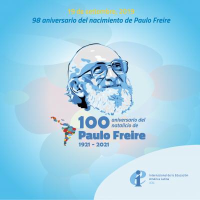 98 aniversario del nacimiento de Paulo Freire