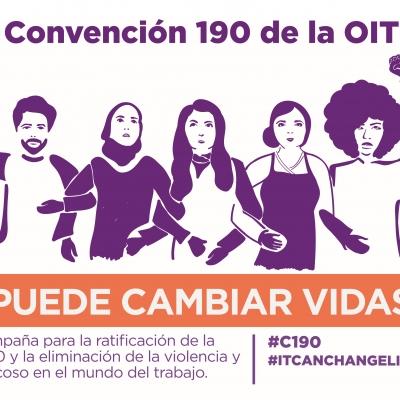Campaña para ratificar Convención 190 de la OIT