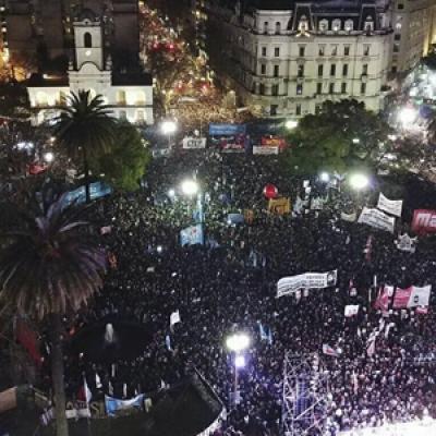 Comunicado: La IEAL repudia la desaparición de Santiago Maldonado